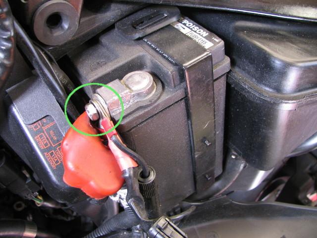 Remplacement de la batterie harley davidson sportster xr1200x by edo - Maintien de charge batterie ...