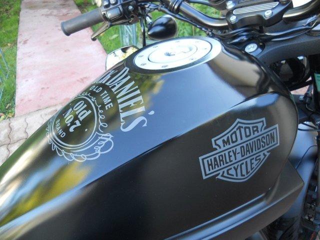 Sticker Sur Le R 233 Servoir 4 Harley Davidson Sportster